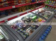 无锡精品生鲜超市多个岛柜组合卧式冷柜