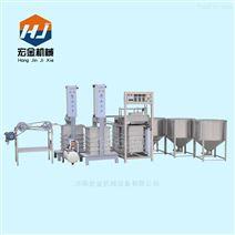 宏金厂家直销大型制作豆腐皮的机器价格