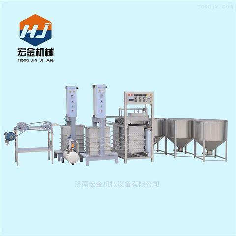 宏金廠家直銷大型制作豆腐皮的機器價格