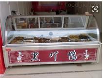 郑州哪有卖鸭脖柜的丨鸭脖店专用展示柜