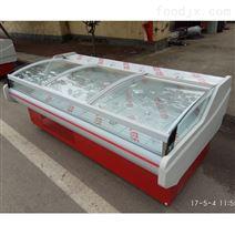 三米超长制冷保鲜展示柜推拉门式生鲜肉柜