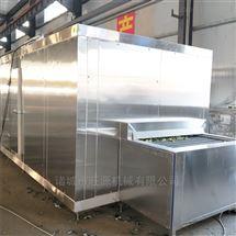石斑鱼隧道式速冻设备
