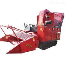 场上作业自走式青储机 玉米秸秆青贮机
