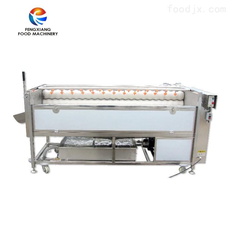 高压喷淋式土豆 果蔬机械 水果清洗抛光机