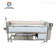 PX-1500高压喷淋式土豆 果蔬机械 水果清洗抛光机