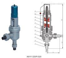 A61Y彈簧微啟式高壓安全閥