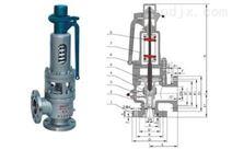 NFA48電站高溫高壓帶散熱器安全閥