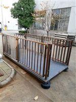 青岛1吨称牛电子地磅 2T围栏畜牧电子秤