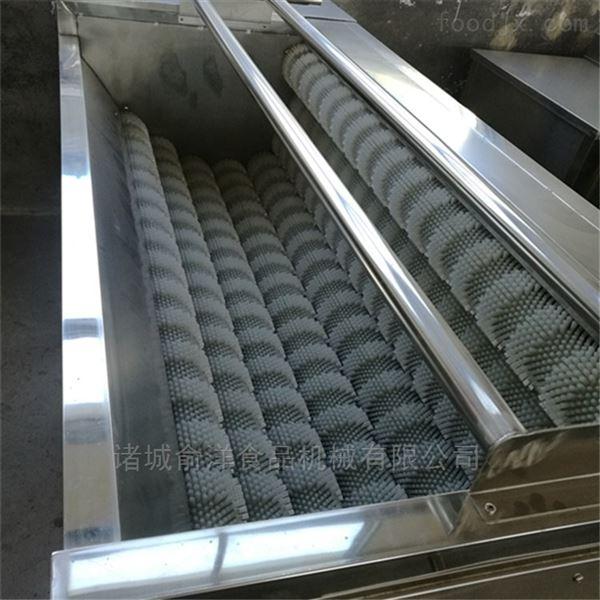 厂家直销----土豆毛辊清洗去皮机