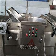 食品厂专用自动刮渣省油省力油炸生产线
