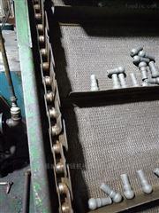 淬火油池不锈钢网带,挡板式网带提升机