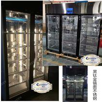 保鲜展示柜火锅店喷雾定做牛肉冻柜面玻璃