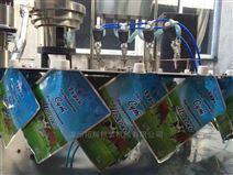 自立袋装洗衣液灌装旋盖机适用于液体、颗粒