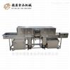 蔬菜框隧道式胶框洗框机-德盈食品机械