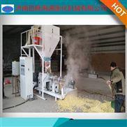 双螺杆玉米大豆饲料膨化机 百脉海源机械