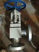 J44W不锈钢角式截止阀