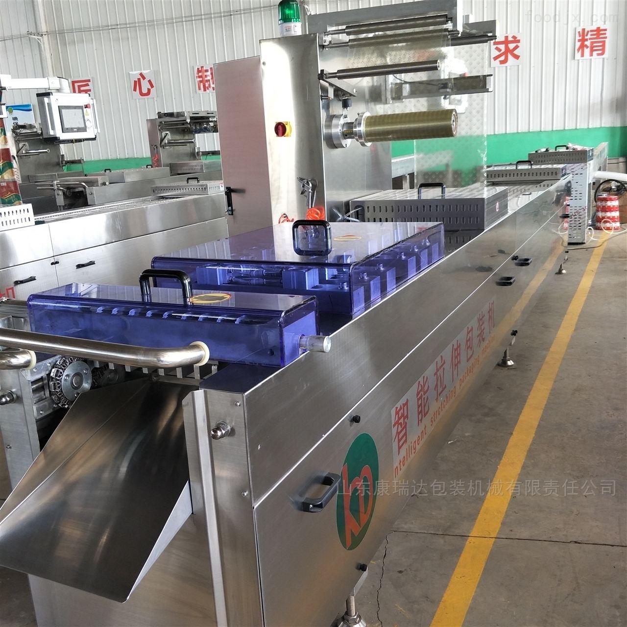 不锈钢420自动拉伸膜真空包装机厂家定制