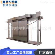 重庆厂家定制单扇不锈钢电动平移门