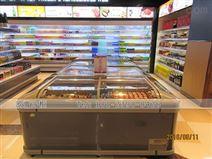 深圳卧式冷冻展示柜订购组合岛柜要多少钱
