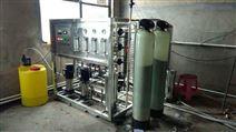 黑龙江鸡西同喜食品厂1吨双机纯净水设备