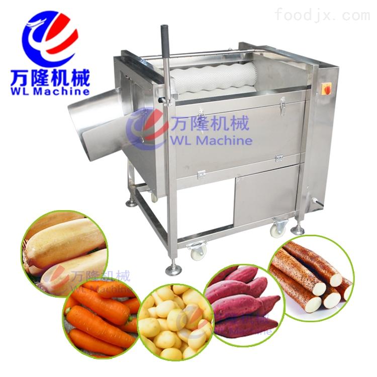 土豆 山芋 红薯 薯类多功能自动清洗去皮机