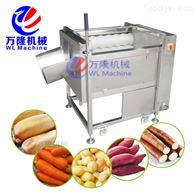QX-08土豆 山芋 红薯 薯类多功效主动洗濯去皮机