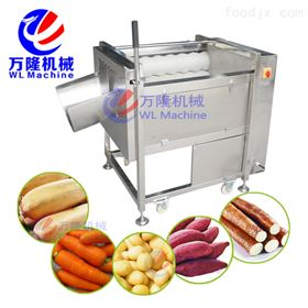 QX-08土豆 山芋 紅薯 薯類多功能自動清洗去皮機