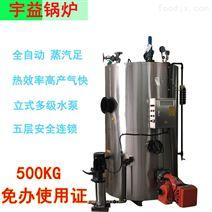 燃气蒸汽锅炉报价300KG化工蒸汽发生器