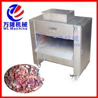 QG-500廠家供應大型雞肉砍排機 家禽砍排設備