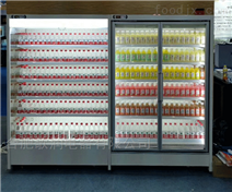 供应安徽超市冷链冷柜风幕冷藏冻展示水果柜