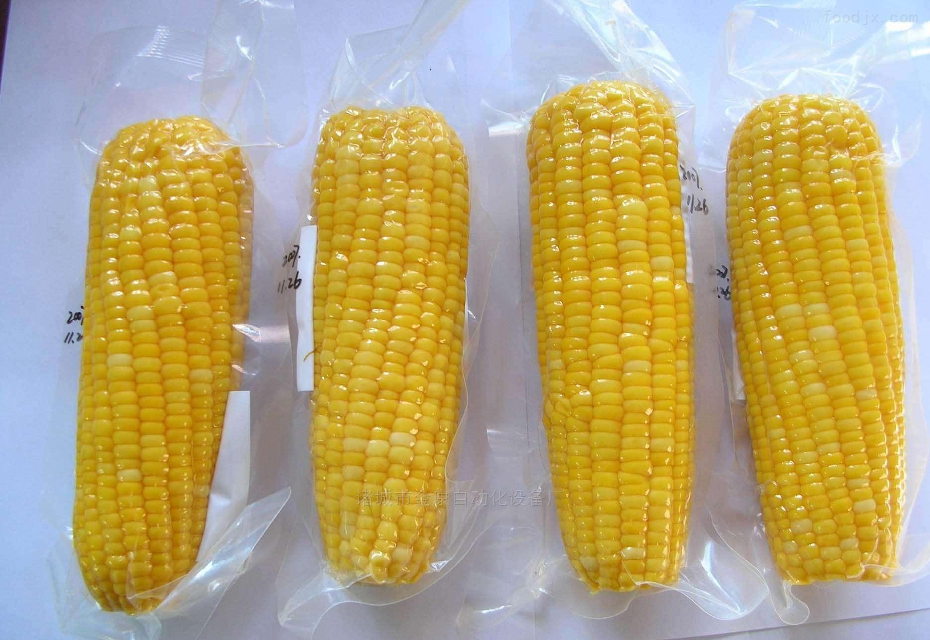 玉米  小烤肠拉伸膜真空包装机