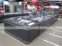 上海冰柜卧式岛柜促销价格是什么价位
