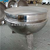 可倾斜熬糖浆夹层锅