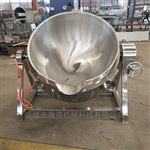 600L燃气加热蒸煮夹层锅 大型天然气煮肉锅