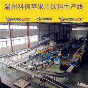 成套苹果汁饮料生产线设备厂家温州科信