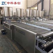 中科圣创薄豆腐皮机器价格 沈阳干豆腐设备厂家 做干豆腐的机器视频