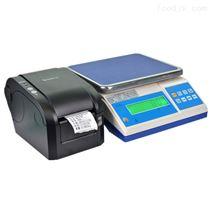 ACS-HT-A食品厂6kg不干胶打印桌秤 热敏打印电子称