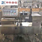 中科圣创豆皮切丝机器视频 小型豆皮机多少钱一台 黄豆膨化豆皮机器