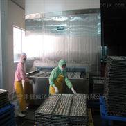 水饺单冻机SUS304不锈钢链条网带厂家