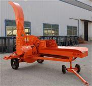 大型养殖厂铡草机揉丝机移动型青贮粉碎机