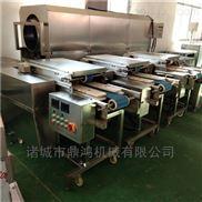 鼎鸿制造猪肉切片机 多层鸭肉片片机