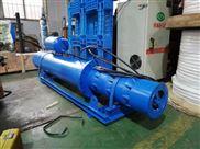 海南自来水厂远距离供水500QJW大流量潜水泵