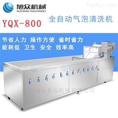 YQX-800商用大型蔬菜清洗机全自动高效洗菜机