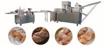 全自动酥饼面包麻花生产线