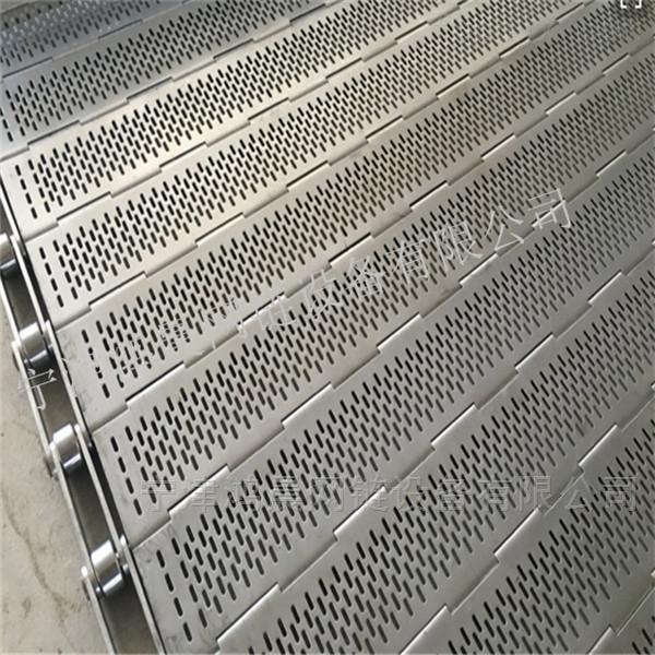 节距19.05mm-不锈钢链板带厂家A耐高温排屑机链板批发