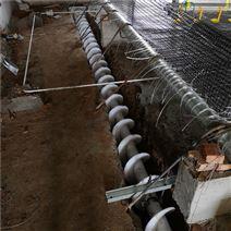 新型材料养殖棚粪沟清粪机 全自动抽粪机