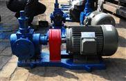 食品级圆弧齿轮泵YCB4-0.6化工泵的工作原理