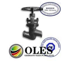 進口鍛造焊接截止閥(德國OLES奧萊斯閥門)
