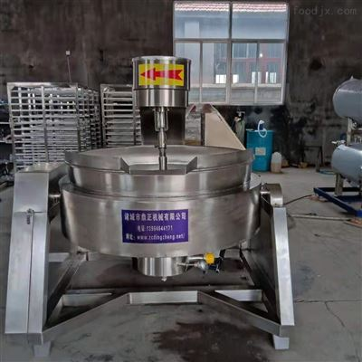 400生产定制全自动六爪黄豆酱行星搅拌炒锅