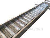 餐飲垃圾不銹鋼提升鏈板輸送機定制